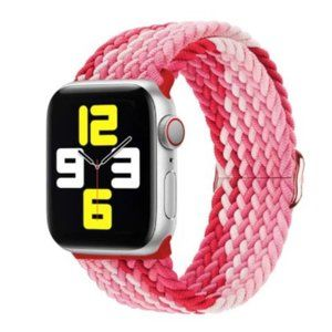 NEW Adjustable Braided Solo Loop For Apple Watch R
